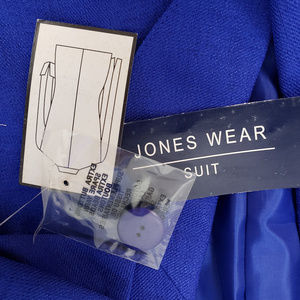 Jones Wear Skirts - Jones Wear Blue 2 PC Piece Suit Skirt Jacket